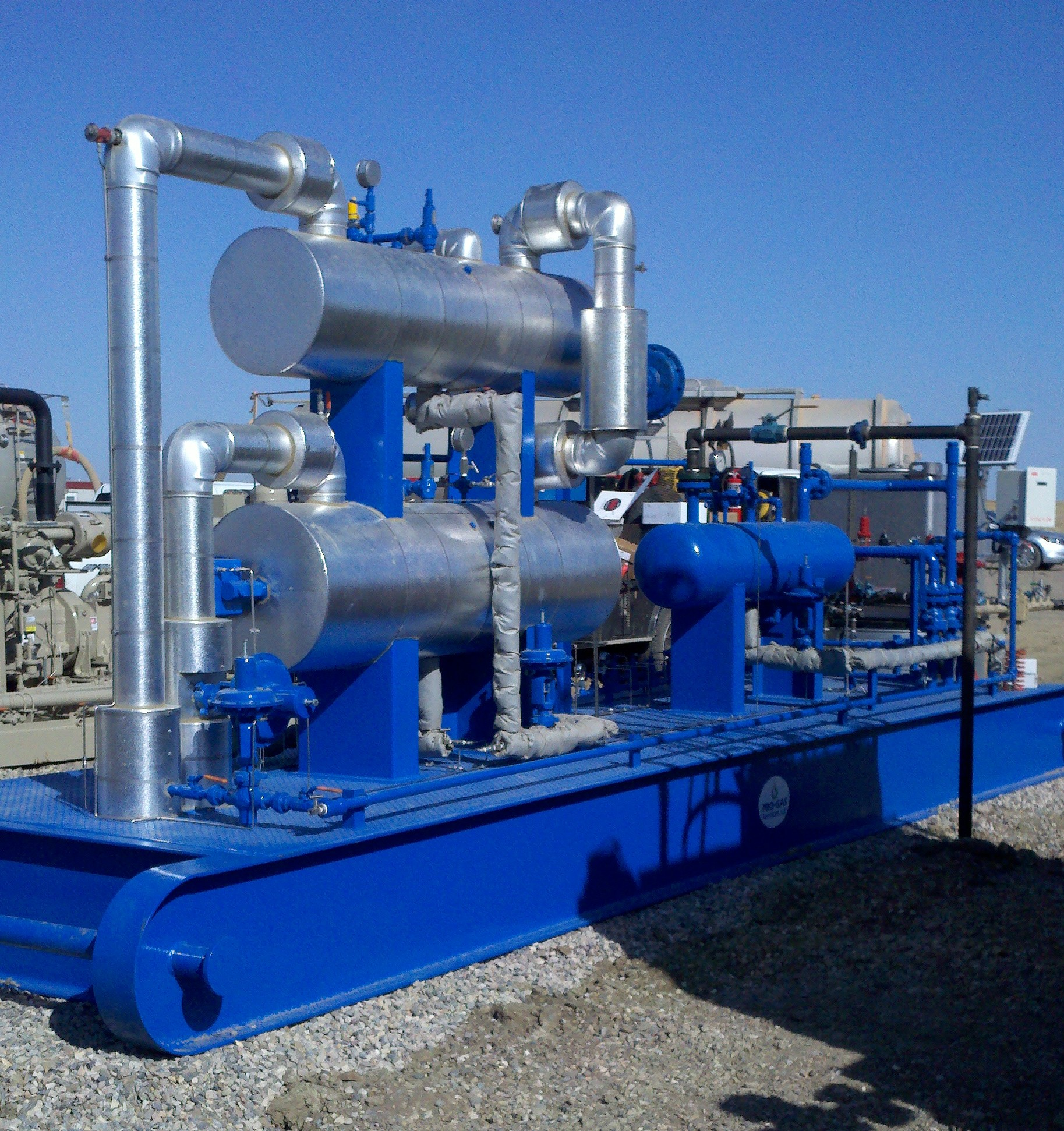 Natural Gas Conditioning Jt Skids Ngl Processing