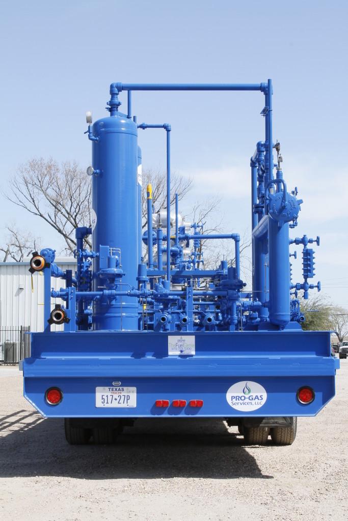 Bi-Fuel Portable Gas Treatment Unit | Fuel Gas Conditioning Skid